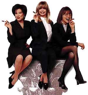 Bette Midler, Goldie Hawn, Diane Keaton
