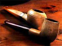 Пенковая курительная трубка