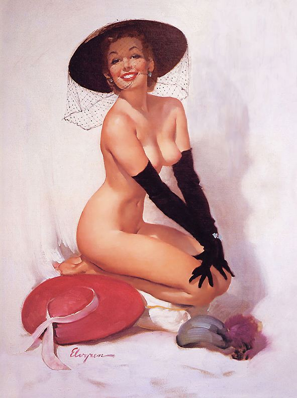 ma Elvgren Untitled, Автор: Elvgren, Gil (Gil Elvgren)
