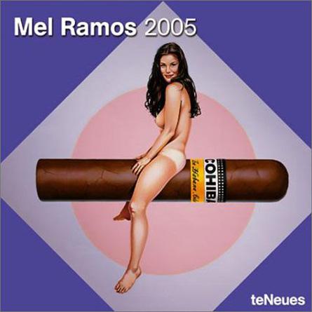 Mel Ramos Art Cigar