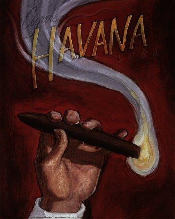 Сигары в живописи