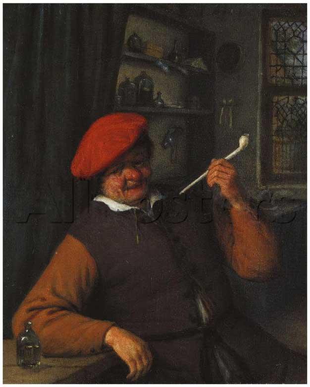 Табак в живописи